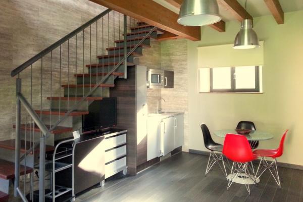 Loft de Fidel, salón-cocina