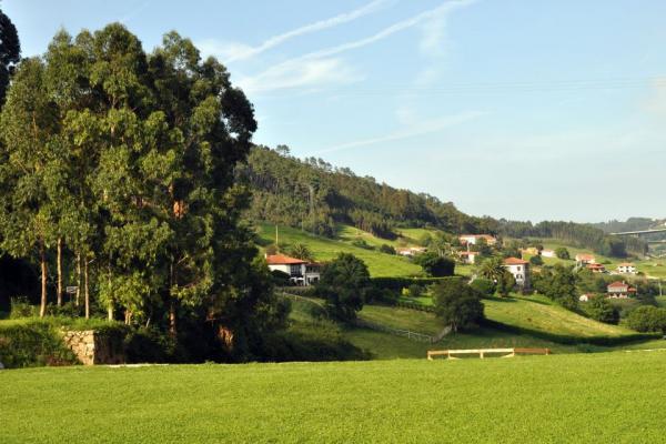 Casona La Sierra, amplia pradera alrededor de nuestras casas