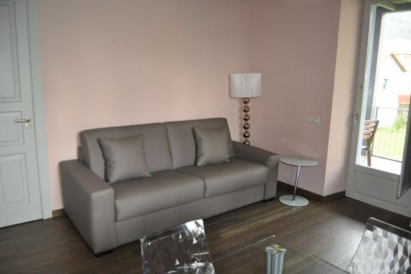 Salón con sofá cama, Casa Solita